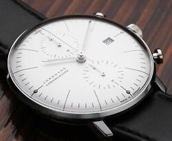 Junghans Junghans Max Bill Chronoscope 027 / 4600.00 New Watch Menand039s