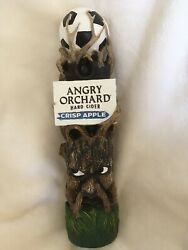 Rare Angry Orchard Hard Cider Soccer Ball Tap Handle