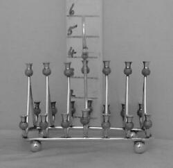 377 Antique English Silver Plated Toast Rack With Thistle Ends To The Divisions
