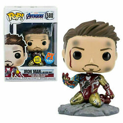 Funko Pop Marvel I Am Iron Man 580 Px Previews Exclusive Glow In The Dark
