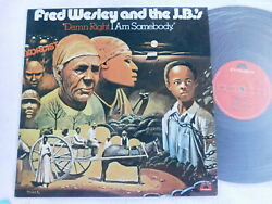 Fred Wesley And The J.b.and039s - Damn Right I Am Somebody - 1990 Japanese Lp W/ Insert