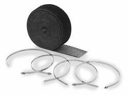 Accel 2001bk High-temperature Exhaust Wrap Kit - Black - 1in. X 50ft.