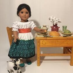 American Gril Pleasant Company Josephina Dolls With Outfit And Accessories