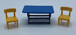 Playmobil Square Table 2 Chairs Campground Zoo Park House Safari