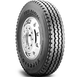 4 Tires Firestone T819 11r22.5 Load H 16 Ply All Position Commercial