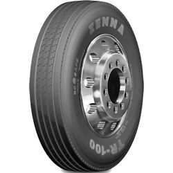 4 Tires Zenna Tr-100 295/75r22.5 Load G 14 Ply Trailer Commercial
