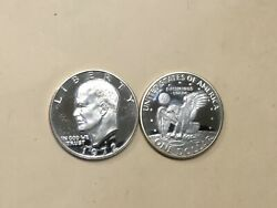 1972 S Uncirculated Proof Silver 40 Eisenhower Ike Dollar. Really Nice Coin