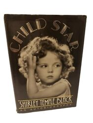 Shirley Temple Hardcover Signed Book Child Star - James Spence Autobiography