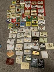 Vintage Lot Of Wine Labels/ Alcohol Labels From All Around World . Great Lot
