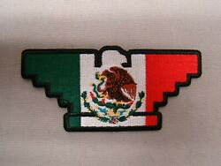 Green White Red United Farm Workers Patch Huelga Patch Ufw Patch Mexico Flag