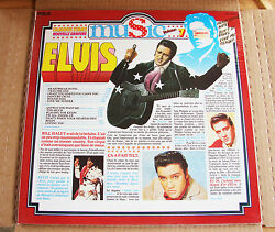 Sealed Mint ☆ Elvis Presley Famous Stars Music .. Made In France