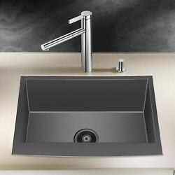 Kitchen Farmhouse Sink Apron Front Stainless Steel 18 Gauge Single Bowl 36inch