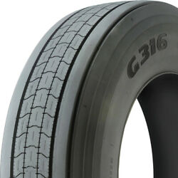 2 Tires Goodyear G316 Lht Fuel Max 255/70r22.5 Load H 16 Ply Trailer Commercial