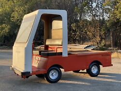 Used Taylor Dunn B-150 Industrial Flatbed Electric Utility Cart