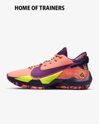 Nike Zoom Freak 2 Bright Mango Volt Grand Purple Red Menand039s Trainers All Sizes