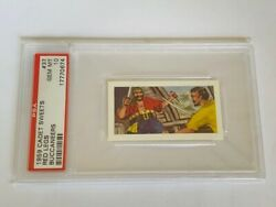 Cadet Sweets Trading Card 1959 Pirate Buccaneer Psa 10 Captain Red Leg 37 Sword
