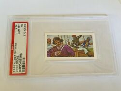 Cadet Sweets Trading Card 1959 Pirate Buccaneer Psa 10 Captain L'ollonois 24 Sp