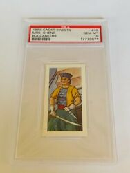Cadet Sweets Trading Card 1959 Pirate Buccaneer Psa 10 Captain Mrs Cheng 40 Ms