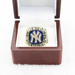 1996 N.y. Yankees World Series Championship Ring 18k Gold Plated Size 11 Usa