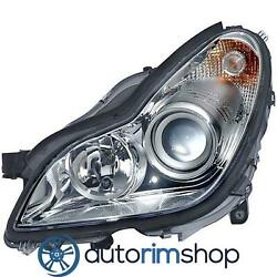 Left Driver Side Headlight For 2007 - 2011 Mercedes Cls550 Mb2502147