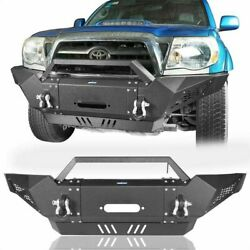Multi Front Rear Bumpers W/license Plate Led Light Fit 2005-2015 Tacoma Gen
