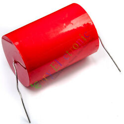 10pc Mkp 250v 68uf Long Copper Leads Axial Electrolytic Capacitor Audio Amp Part