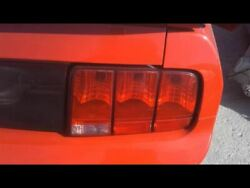 2006 Ford Mustang Gt Tail Lamp 6r3313404ab