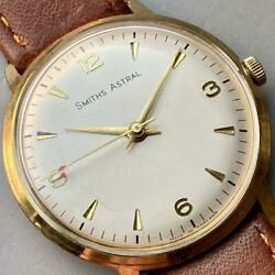 Smiths Astral 34mm Manual Analog Wristwatch Vintage Antique 1967 Overhauled
