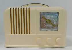 1946 Arvin Model 664a Table Radio Working And A Nice Radio