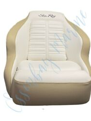 Attwood Aergo Fully Upholstered Flip Up Bolster Helm Seat For Sea Ray Boats