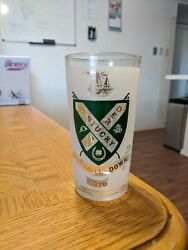 Official 1970 Kentucky Derby Glasses