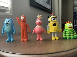 Yo Gabba Gabba Character Figure Set 2009 Toys R Us Exclusive Made By Spin Master