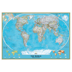 National Geographic Maps Ngmre00622007 World Classic Wall Map Mural