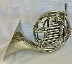 Holton Farkas H177 Double French Horn, Nickel Silver