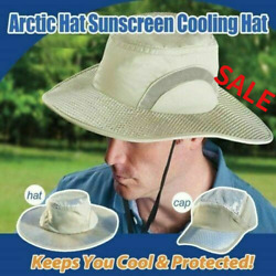 Arctic Hat Wide-brimmed Hat Sun Hat Ice Hat Sun Protection Cooling Ice Hat