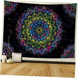 Psychedelic Tapestry Tapestry Hippie Bohemian Tapestry Indian Large Mandala