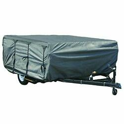 Gearflag Pop-up Folding Camper Cover Reinforced Windproof Side-straps Fits 8and039...