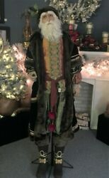 Katherine's Collection Life Size Old World Father Christmas 2013 - Retired