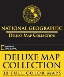 National Geographic Deluxe Map Collection 30 Full Color Maps
