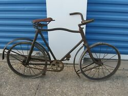 Antique Childs Bicycle American National Company Pope Columbia Early 1900's
