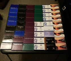 1968 To 2021 Lot Of 57 Us Mint Proof Sets Amazing Collection Many Cameos Wow