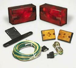 Cequent 407515 Submersible 4x6 Over 80in. Trailer Light Kit W/20ft. Wide Harness