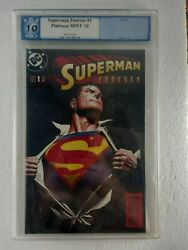 Superman Forever 1998 Pgx .10.0 Gem Mint Not Cgc Wow Free Shipping