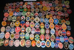Big Lot Of Very Old Graphic Non-us Foreign Vintage Beer Bottle Labels