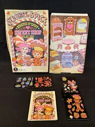 Vintage Colorforms Set Sugar And Spice Scratch Nand039 Sniff Sweet Shop Play Set 1981