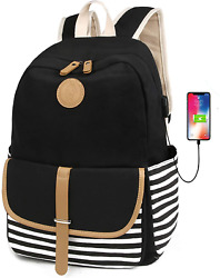 Scione School Backpacks For Women Teen Girls With Usb Charging Port Lightweight $45.99