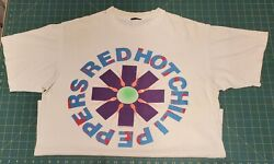 Red Hot Chili Peppers Neon Sperm T-shirt Vintage 1990. Used But Beautiful