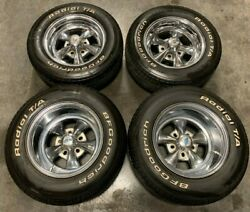 Bfgoodrich P245/60/14 Tires W/raised Wht Lettering And Chrome Cragar Style Wheels