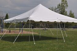 Canopy Party Event Tent Party Package With Tables And Chairs 20x20 Pole Tent