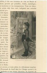 Antique Beautiful Victorian Child School Boy Lass French Posters Street Print